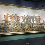 """John Singer Sargent's """"Gassed"""" on loan from the Imperial War Museum - London"""