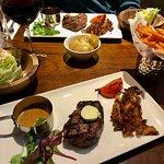 Filet Steak and sides at Miller & Carter Glasgow