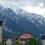 Vista do restaurante: Mont Blanc