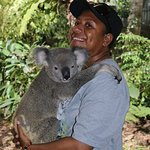 Had to have to this photo with the gentle Koala to make a hilight of my trip to Australia.