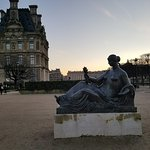 Gardens surrounding the Louvre Museum.