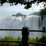 Viewing Area - Zambian side