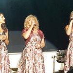 The ladies singing