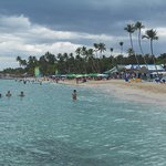 Foto van Public beach of Dominicus at Bayahibe