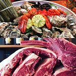 dry aged meat & Fruits de Mer