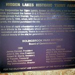 about Hidden Lakes Historic Trout Farm