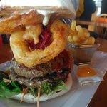 The Dog's Bollox Burger!
