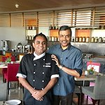With Executive Chef Arun Avasthi