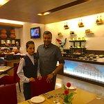 With Hostess Geeta