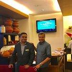 With Sandeep Nair
