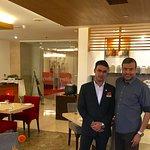 With Saurav Adhikari