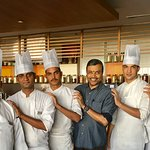 With the Chef Brigade..................2