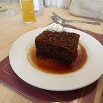 Stick toffee pudding