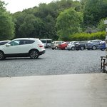 The new car park