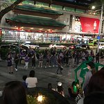 Street performers on Orchard road