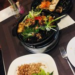 Sizzling Grilled fish