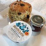 Best Cornish cream tea ever!!!