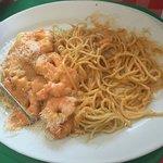 Espaguete com Lagostins