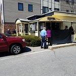 Walk up window @ Casey's Diner