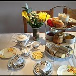 phone to book afternoon tea,or one of our beautiful rooms 01803 294940