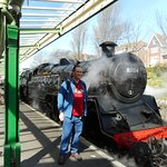 Me with No 80104 at Swanage.