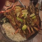 Prawns, langoustines, crayfish, calamari, kingklip