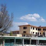 Piscina termale esterna riservata ospiti hotel