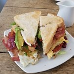 Club Sandwich - Make sure you're hungry!