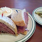 Hot Pastrami on Rye