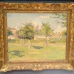 Camille Pissarro - Soleil d'aprés-midi dans le pré d'Eragny - 1887