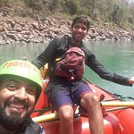 With The Owner Of Paddle India Vikram Hirani. It was fun with him. it was joyful ride.