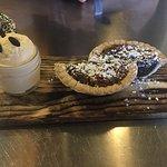 Bourbon Chocolate Pecan Pie w/ Vanilla Ice Cream