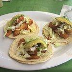 Fish tacos - 3 for 75 pesos