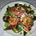 Berry Salad with Shrimp