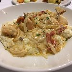 Shrimps with Grits