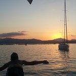 tramonto a Golfo Aranci