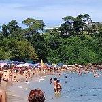 Faixa de areia da Praia de Santa Rita