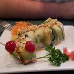 Caterpillar roll . Delicious.