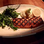 Their Fish Grilled filet...Ruby Trout!