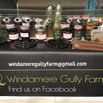 Local made jams from homegrown produce