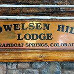 Lodge sign in Howelsen Hill