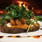 Roasted Carrot Tartine