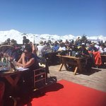 Wonderful Terrace At Chalet Marine Val Thorens