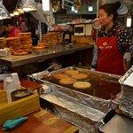 Mung bean cake at Gwangjang market