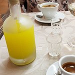Espresso & Limoncello - the perfect end to a meal