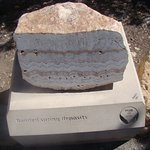 Geology exhibits South Rim Trail