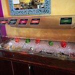 Salsa bar