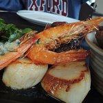shrimp, scallop