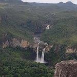 Salto do Rio Preto (120), visto pelo mirante.
