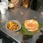 Average Puri Bkfast, Puri were kachchi, ambiance poor, not attended customers properly. Not reco
